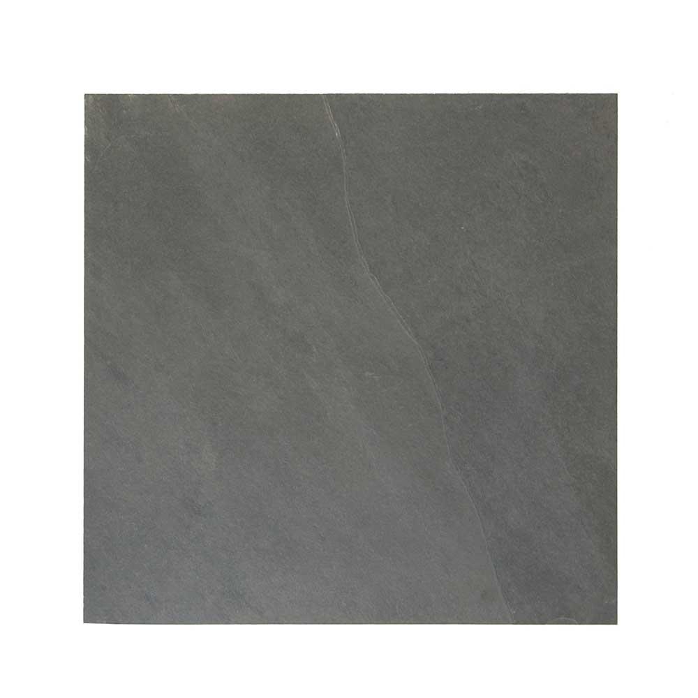 Primero LavaNero - Bodenplatten für Innen, Oberfläche spaltrau, Unterseite kalibriert - anthrazit