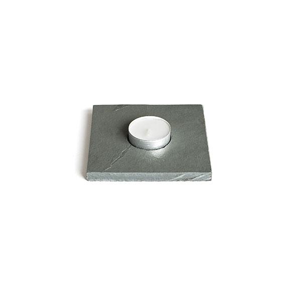Primero Teelichtleiste, 1-fach 9×9x1cm