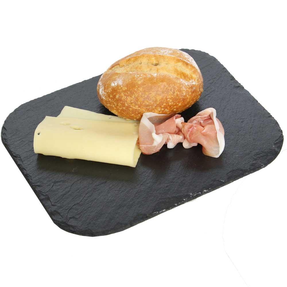 Primero Frühstücksbrettchen-Rechteck abgerundete Ecken 4er Set