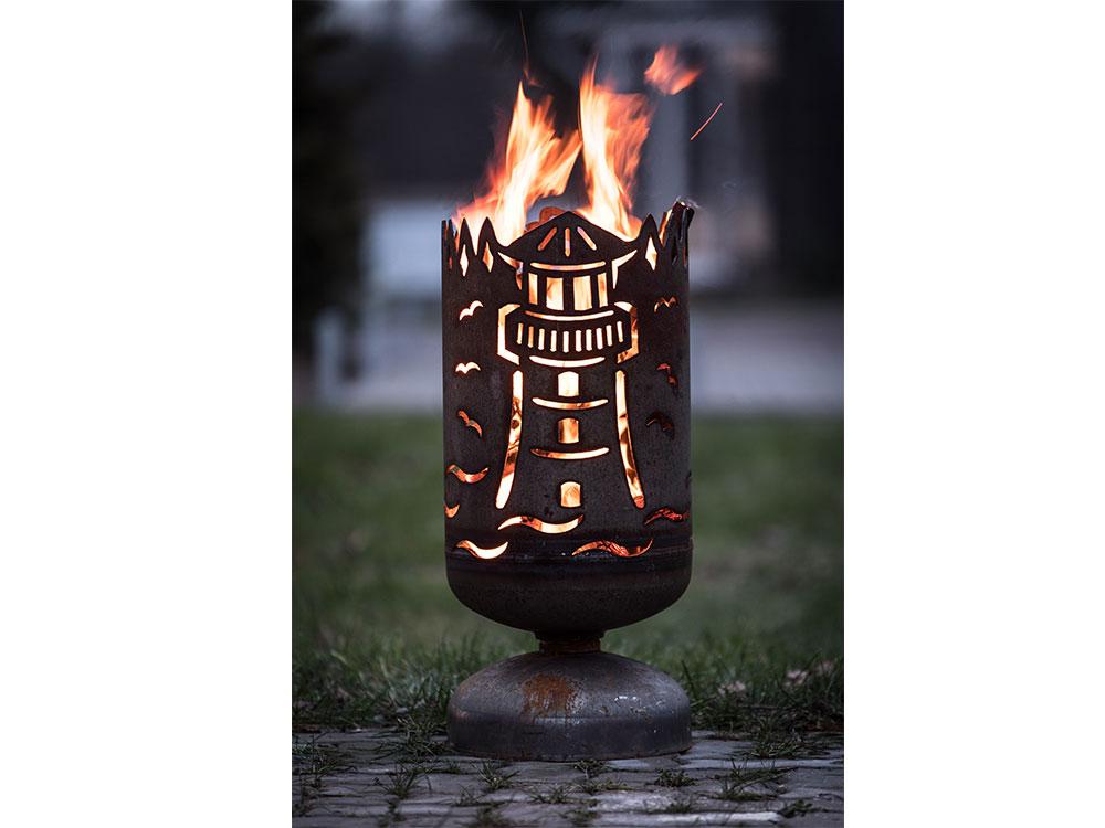 "Feuerkorb ""Leuchtturm"""