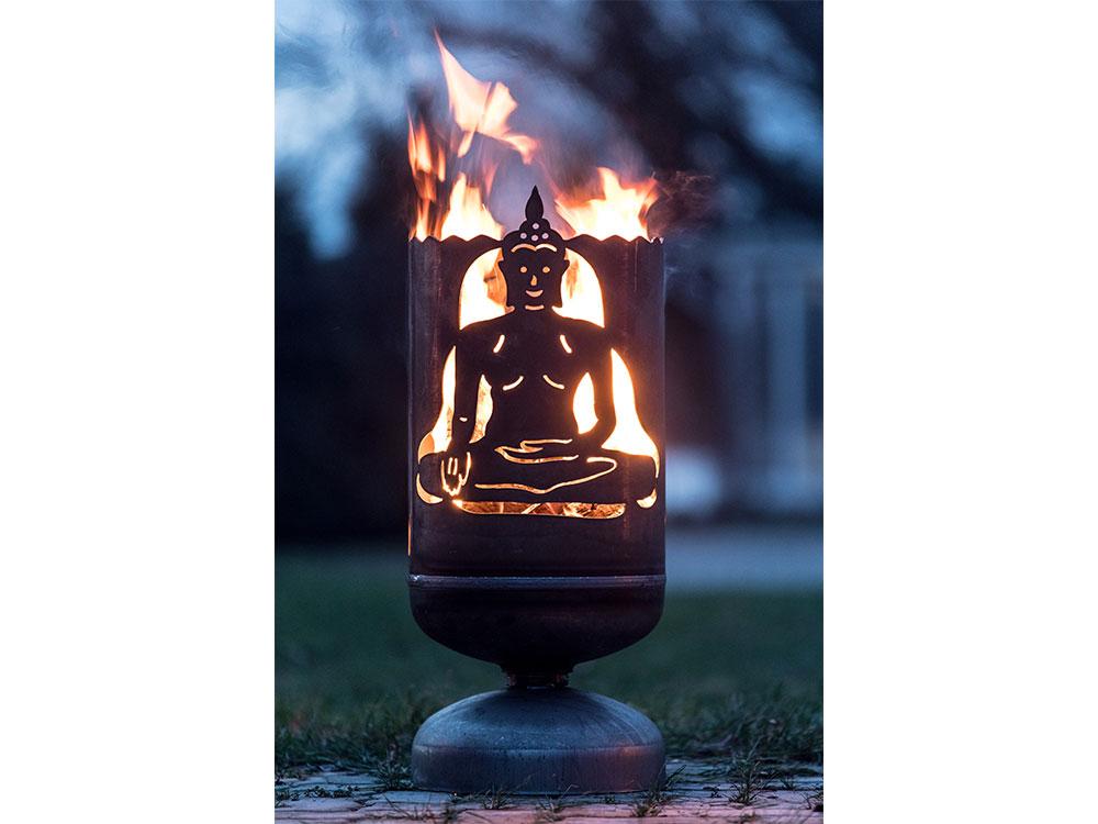 """Feuerkorb """"Buddha"""""""