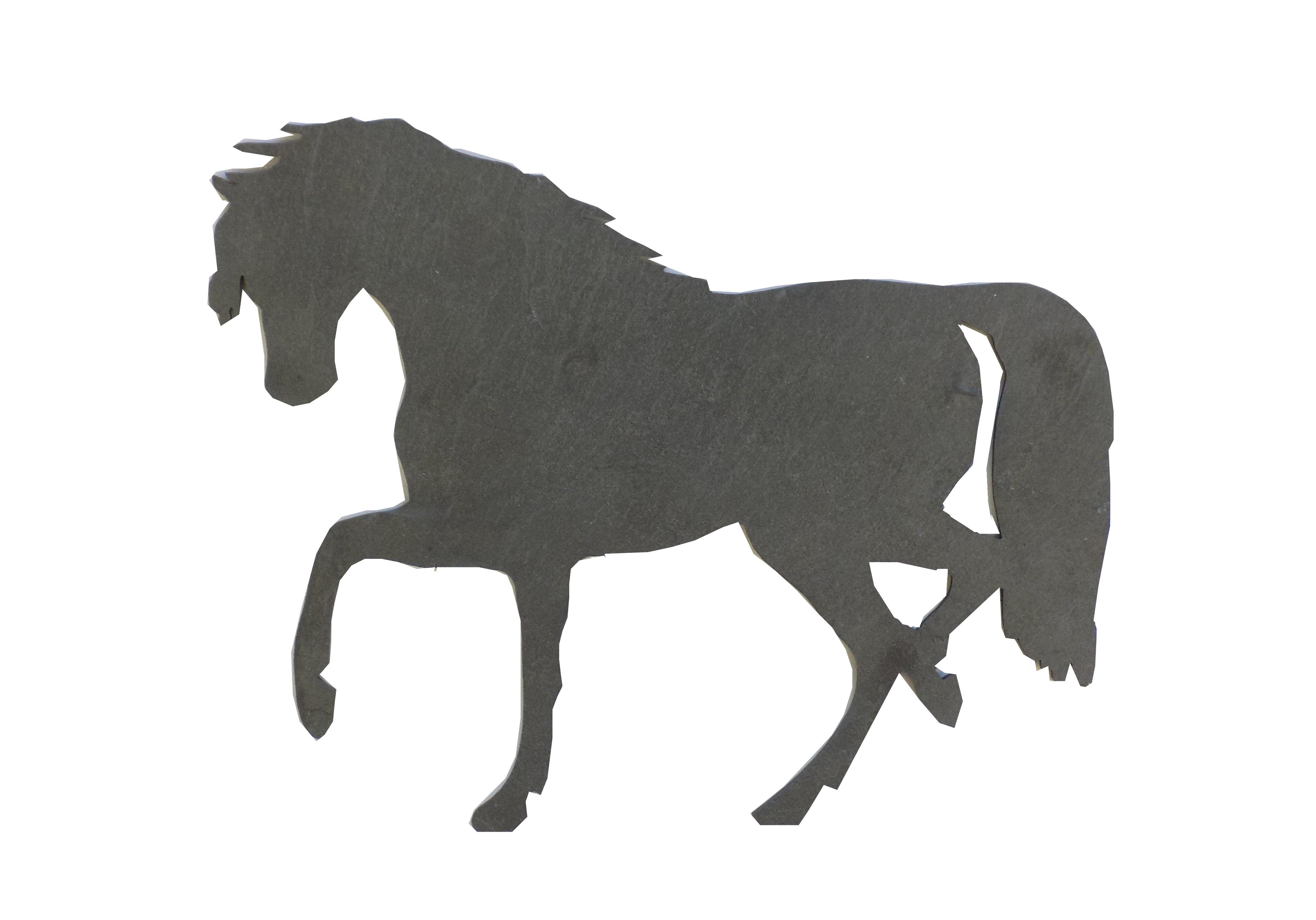 Primero Pferd ca.24x19cm