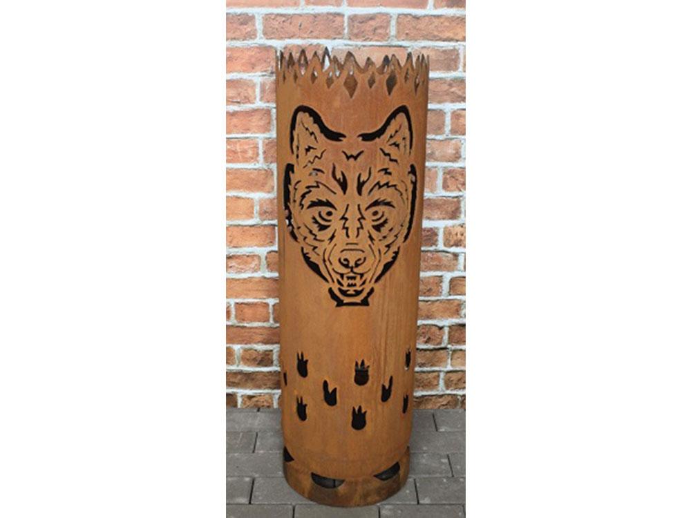 """Feuertonne """"Wolf"""""""