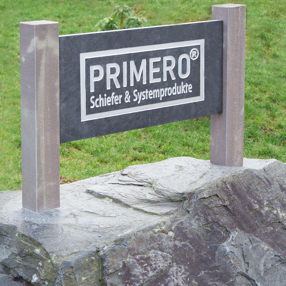 PRIMERO Pilar Firmenschild