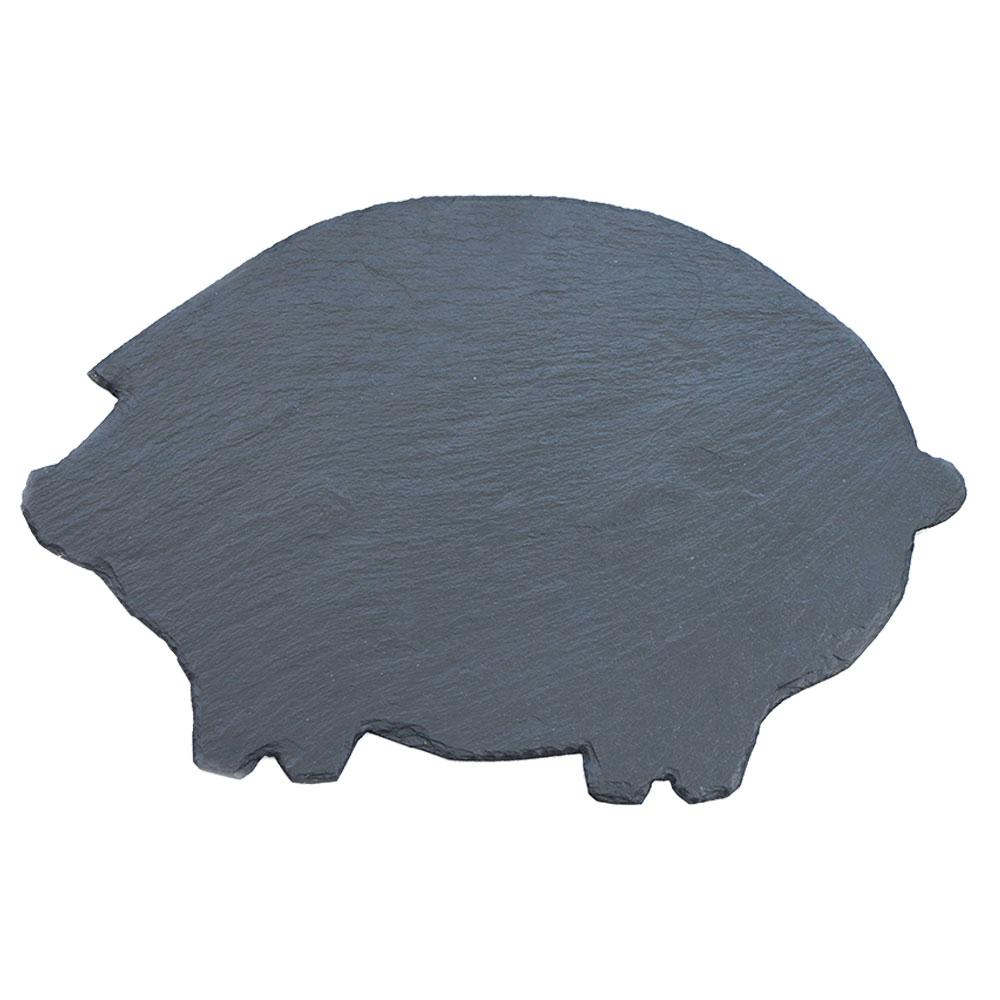 Primero Schiefer-Schwein - versiegelt, ca.30x20cm