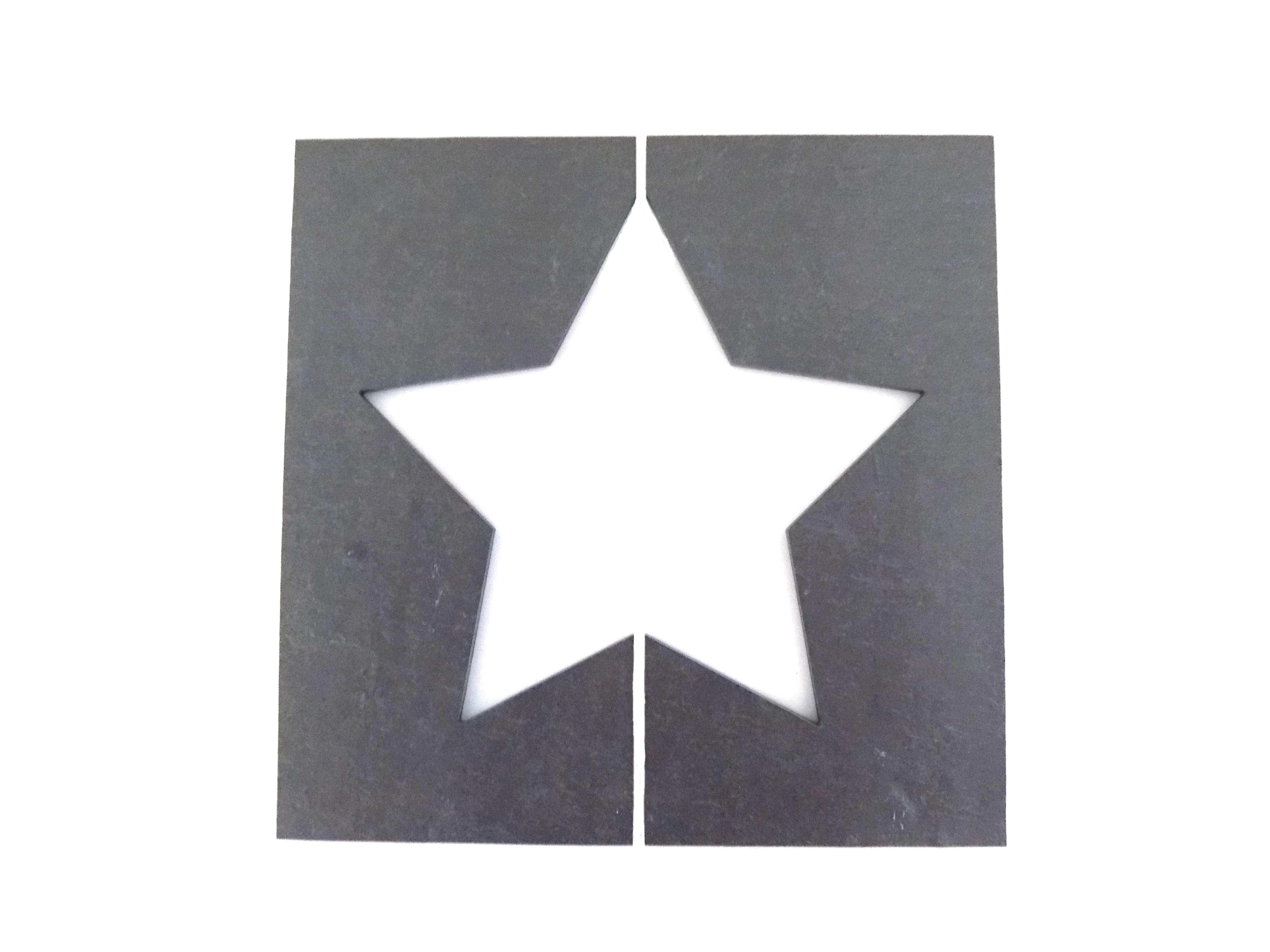 Primero Sterntafel ca. 20x20cm 2-tlg.