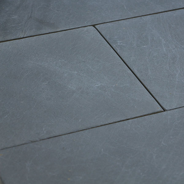 Primero Vulcano Bodenplatten für Innen,  ca. 60x30x1cm, Oberfläche gebürstet, Unterseite kalibriert